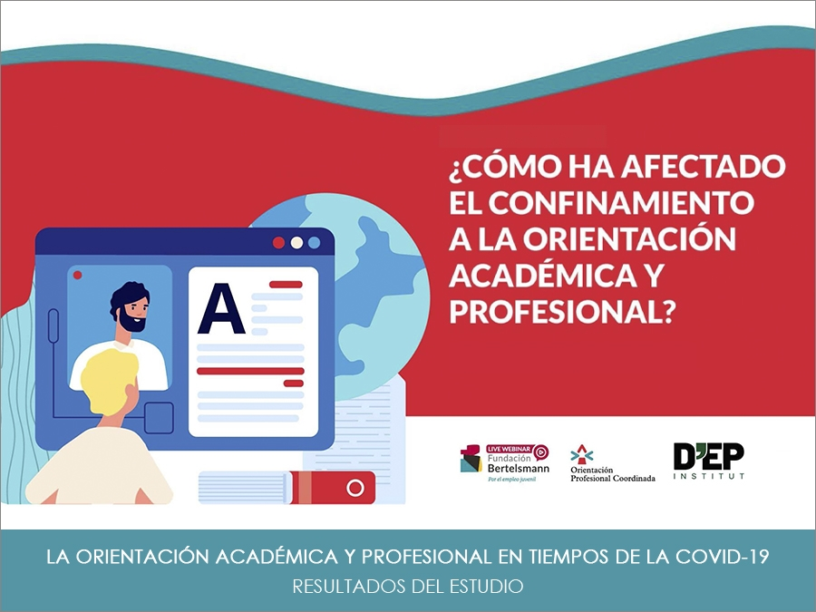 """Resultados del estudio """"La orientación académica y profesional en tiempos de la COVID-19"""""""